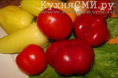 борщ я варю летом с красным сладким перцем и свежими помидорами