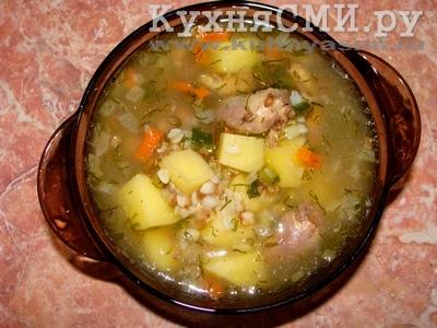 Рецепт суп с сердечками