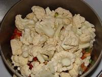Рагу из цветной капусты – кулинарный рецепт