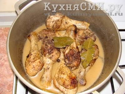 рецепты голени гриль в духовке