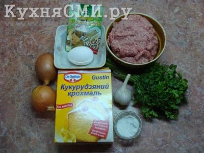 Продукты для жареных колбасок