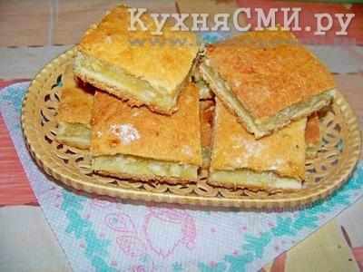 Пирог дрожжевой с лимонной начинкой рецепт пошагово