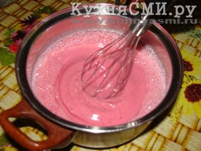 Простое клубничное мороженое, пошаговый рецепт с фото