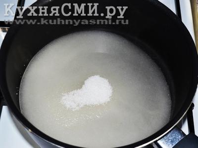 Что будет если сварить сахар с водой