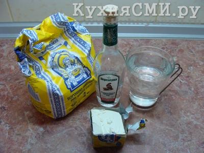 Продукты для приготовления теста